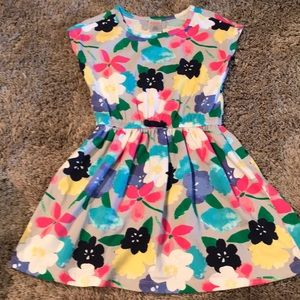 Gymboree floral elastic waist dress